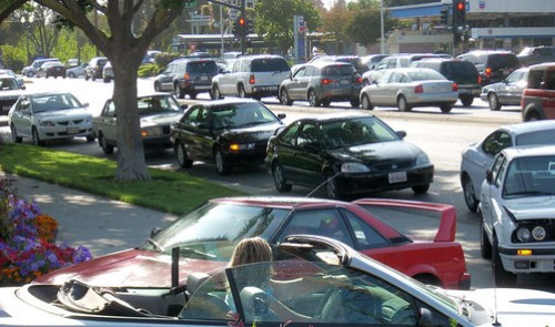 Hamilton Avenue traffic