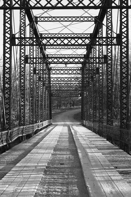 Bird Bridge in Emporia, Kansas