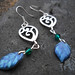 The Proud Peacock Swarovski Earrings