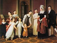 Jewish family by C.W. Eckersberg, 1818