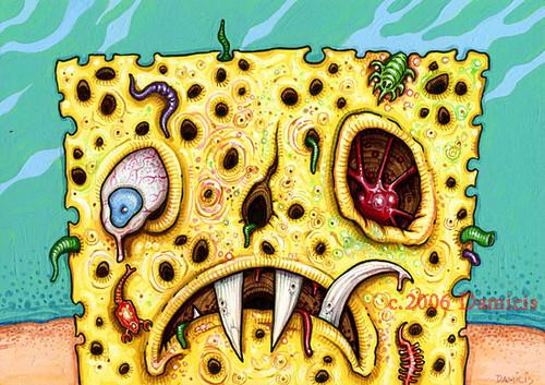 Rotten Sponge Boy My Algae Slime And Parasite Infested