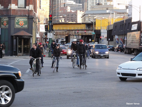 Biking at Grand/Halsted/Milwaukee (3 of 4)