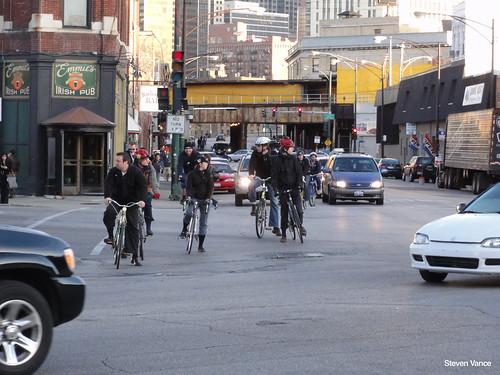 Biking at Grand/Halsted/Milwaukee (3 of 4)