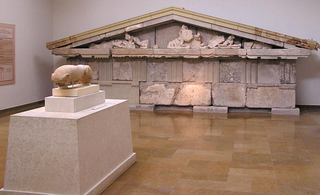Grecia Tesoro de Megara Museo arqueológico de Olimpia 17