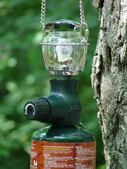 Propane lantern, Let there be light