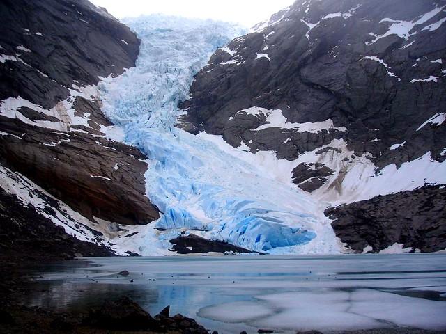 Briksdalbreen - Briksdal Glacier