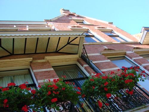 Balcony in Bloom