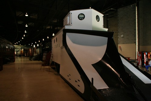 Train Museum - Snow plow