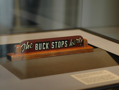 The Buck Stops Here - Harry S. Truman Presidential Museum and Library - Independence, Missouri