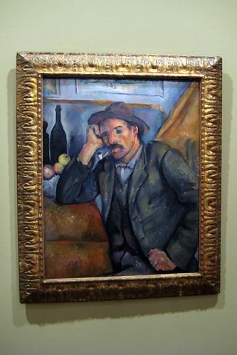 Paris - Musée d'Orsay - Paul Cézanne's Le Fumeur accoudé