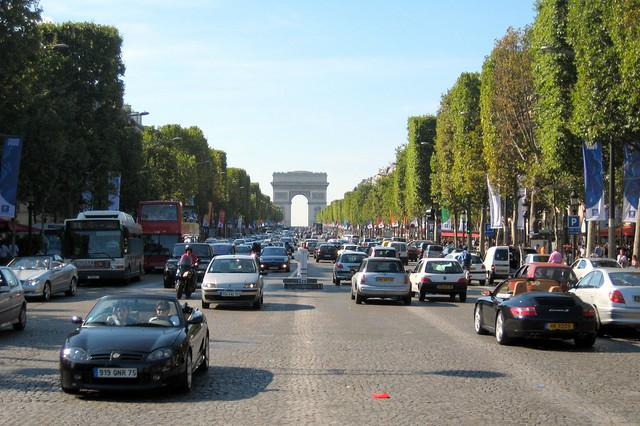 Paris: Avenue des Champs-Élysées - Arc de Triomphe de l'Étoile