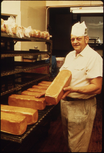 Homemade Bread and Sweet Rolls Are Made Daily by Jim Tillman of Tillman's Bakery...
