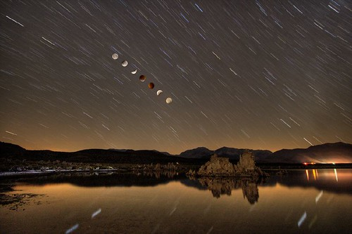 Lunar Eclipse at Mono Lake