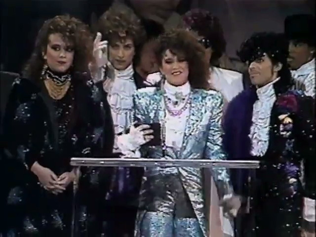 Prince And The Revolution American Music Awards 1985