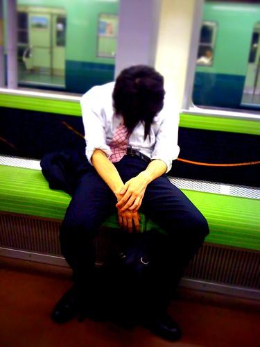 疲れっぷり
