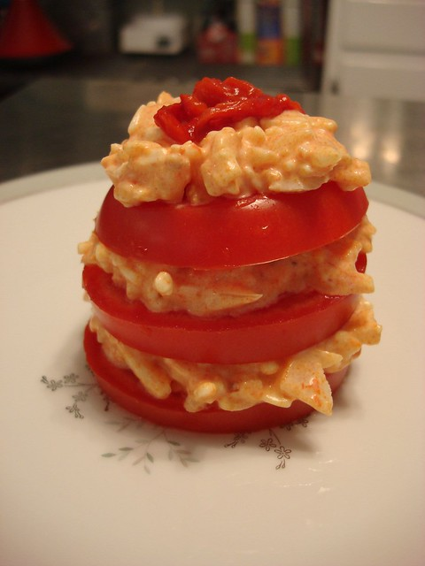 Pimiento and Tomato Salad