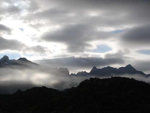 Mountains over the clouds by little_frank