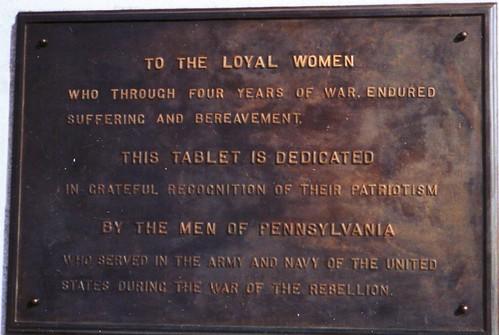 Pennsylvania Women Plaque