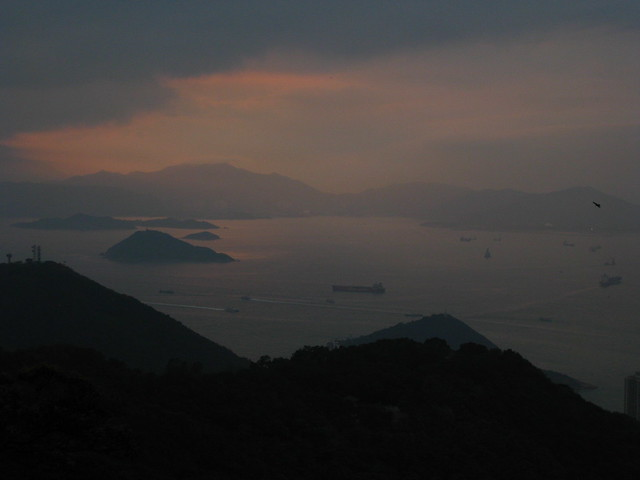 Sunset From Victoria Peak