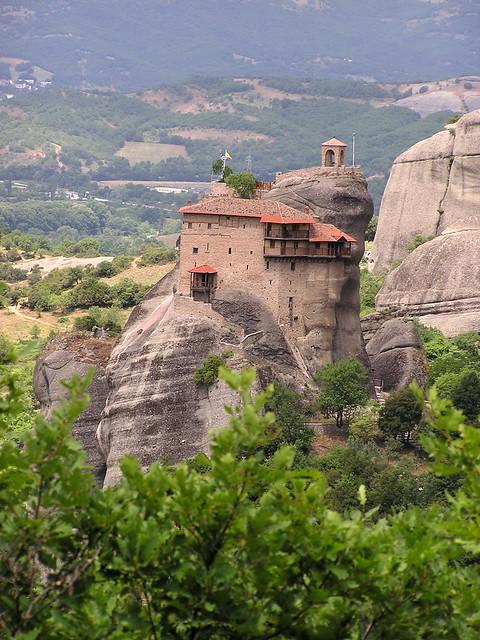 Grecia Meteora Monasterio de San Nicolas Anapausas 72
