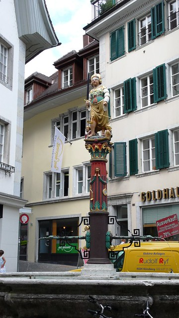 Fountain in Solothurn