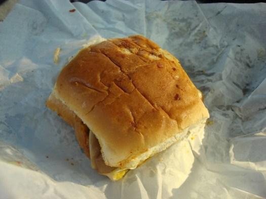 Pig Ear Sandwich from the Big Apple Inn, Farish Street, Jackson MS