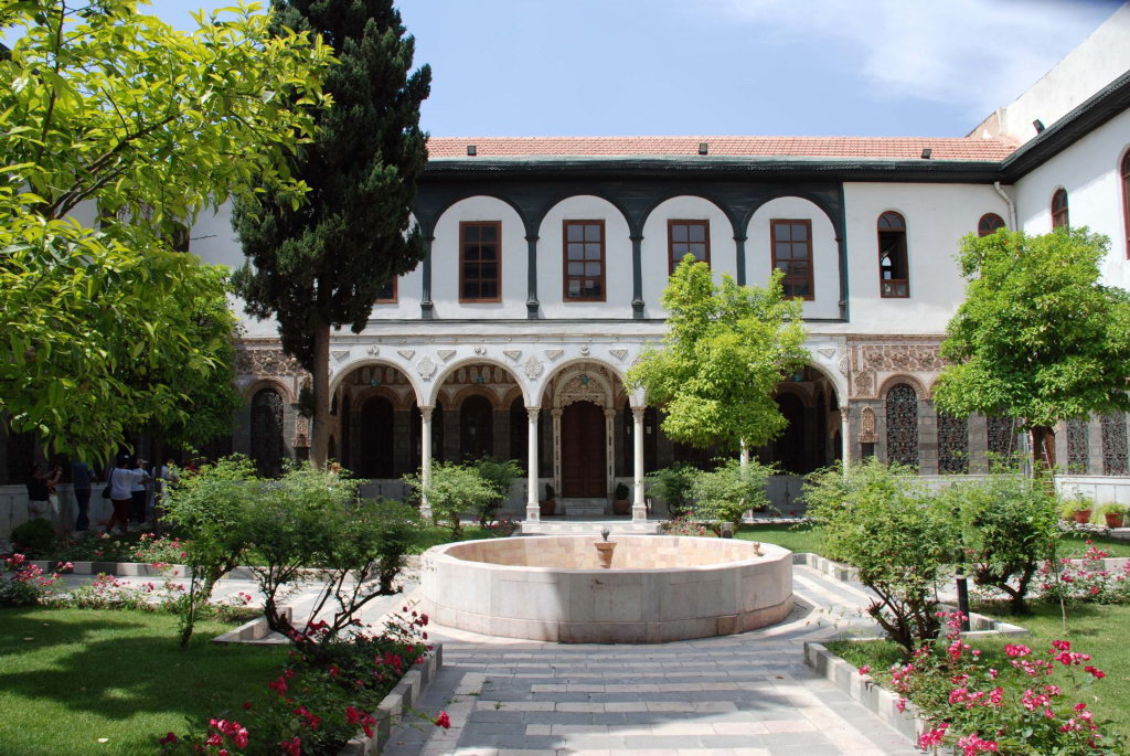 Siria Damasco Centro Cultural Maktab Anbar 06