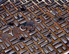 NYC - Manhole cover