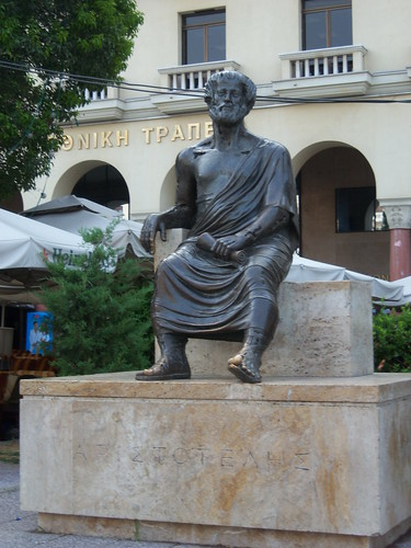 Statue of Aristotle in Thessaloniki