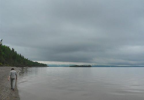 Walk along Bras d'Or Lake