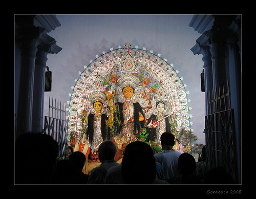 Durga Puja - Surul Rajbari by Somnath Mukherjee Photoghaphy