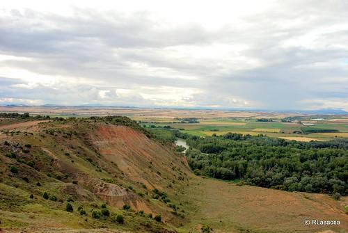 Vista de la Ribera desde el despoblado de Rada