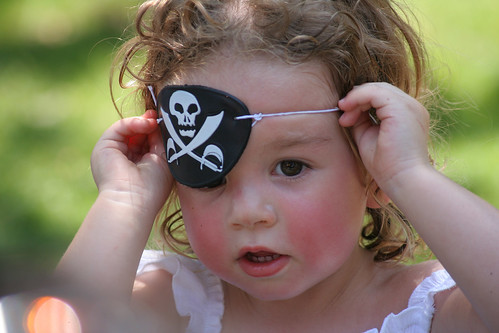 Pirate Riley. Aaarrhh Me Hearties! by peasap