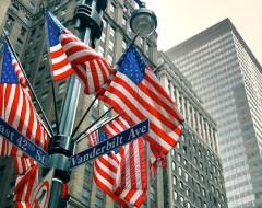 NYC- Buildings & Flags