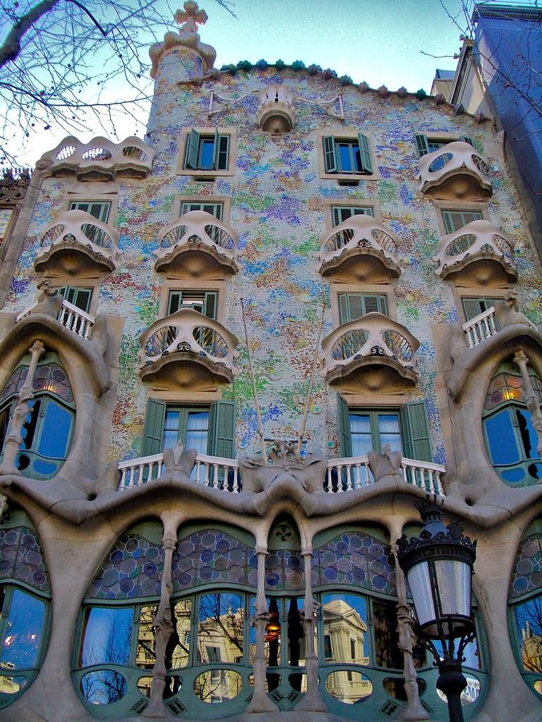 the iconic casa batllo by antoni gaudi twistedsifter