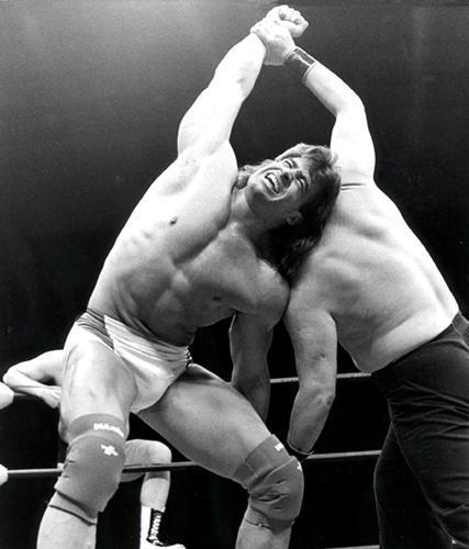Wrestling workout, Tom Zenk