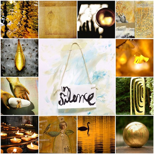 Silence is golden (Pomi's mosaic)