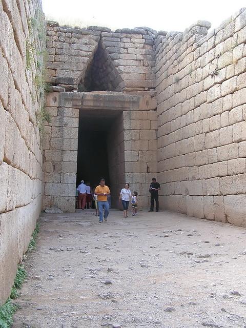 Grecia Micenas Tumba de Agamenon 14