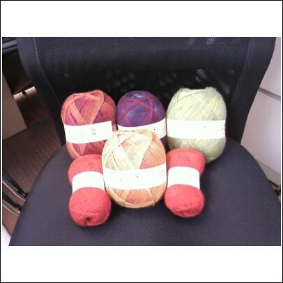 Kauni yarn!