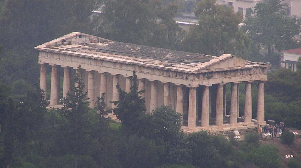 Grecia Agora de Atenas o Griega Templo de Hefesto Hefestion  01