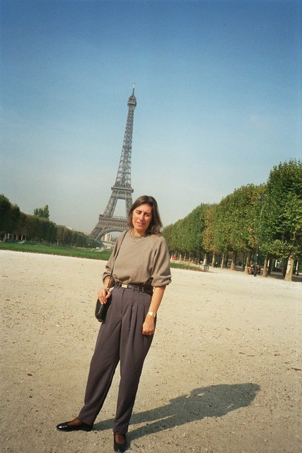 Me with Eiffel Tower
