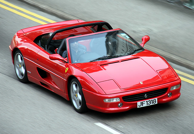 Ferrari | F355 | GTS | JF 1318 | Mid-Levels | Hong Kong | China