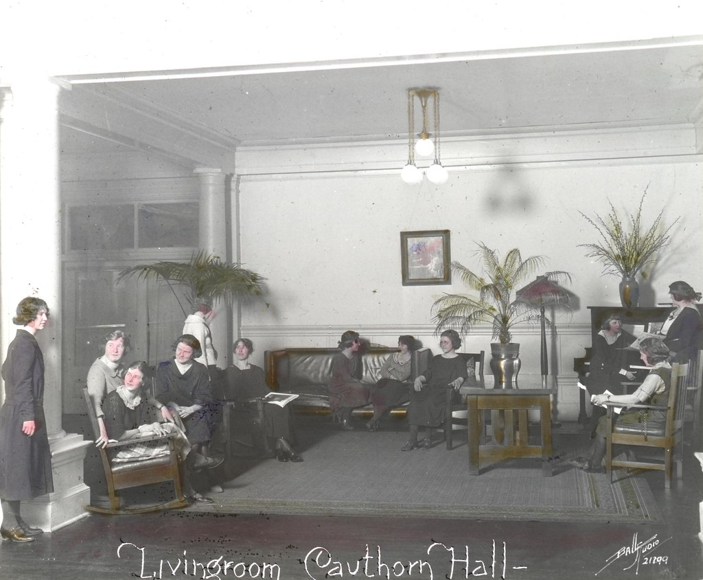 Living Room Cauthorn Hall