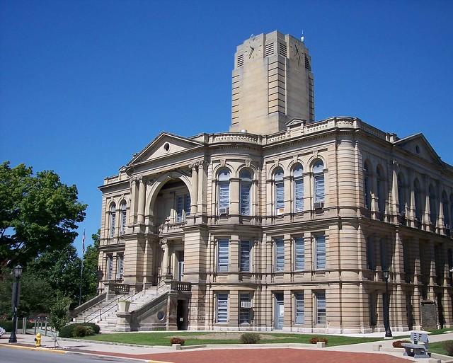Tiffin Ohio Seneca Courthouse County