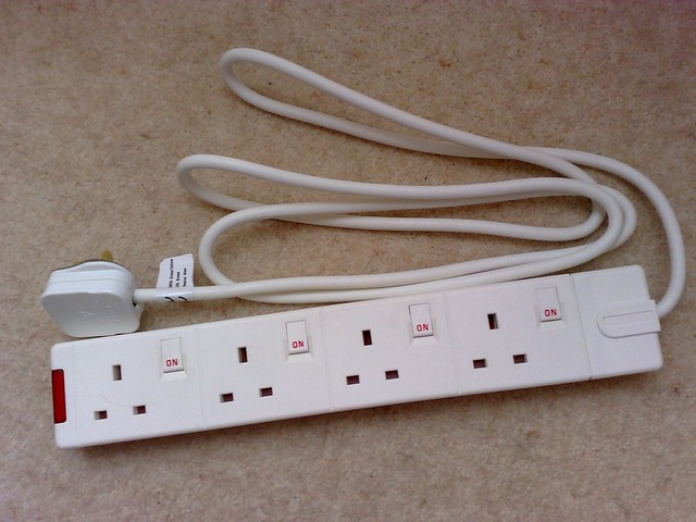a switched power strip