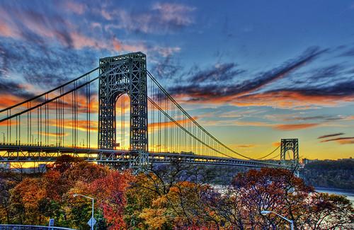 Sunset: George Washington Bridge
