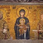 Mosaik in der Hagia Sophia by Geri