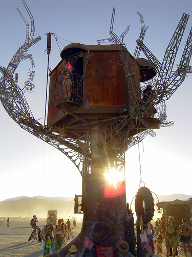 Steam Punk Treehouse