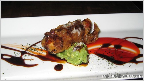 King Crab Tempura Appetizer