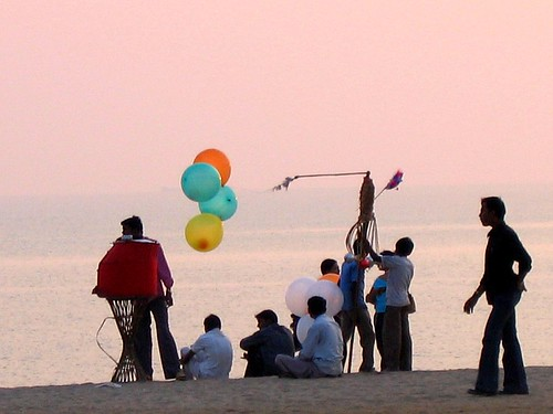 Balloons, Chowpatty beach